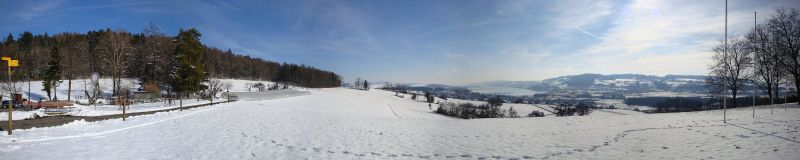 Panorama Eichberg im Winter